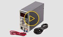 Видеообзор лабораторного блока питания Masteram HPS305DF