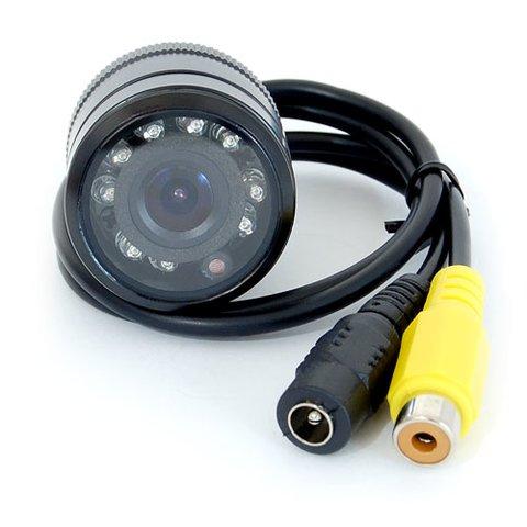Універсальна автомобільна камера заднього виду GT S618 з інфрачервоним підсвічуванням