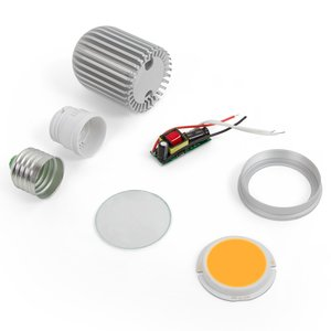 LED Light Bulb DIY Kit TN-A44 7 W (warm white, E27)