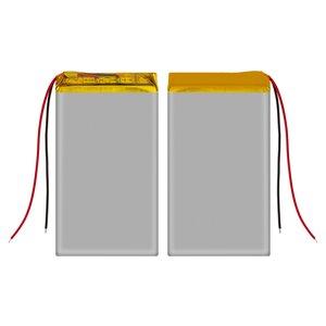 Battery, (80 mm, 41 mm, 6.4 mm, Li-ion, 3.7 V, 2200 mAh)