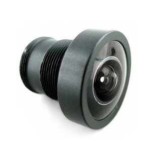 Replaceable Wide-Angle IP Camera Lens (150°, M12 Thread)