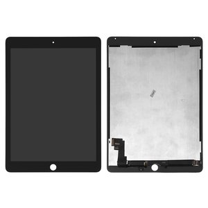LCD for Apple iPad Air 2 Tablet, (black, with touchscreen, High Copy)