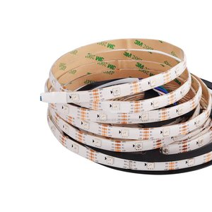 RGB LED Strip SMD5050, WS2813 (with controls, white, IP65, 5 V, 30 LEDs/m, 5 m)