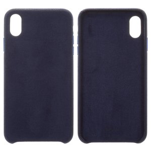 Case Baseus compatible with iPhone XS Max, (dark blue, Super Fiber, plastic) #WIAPIPH65-YP03