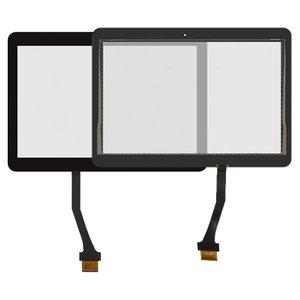 Cristal táctil Samsung N8000 Galaxy Note, N8010 Galaxy Note, P5100 Galaxy Tab2 , P5110 Galaxy Tab2 , negro, (244*171 mm)