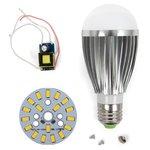 Juego de piezas para armar lámpara LED SQ-Q03 9 W (luz blanca cálida, E27)