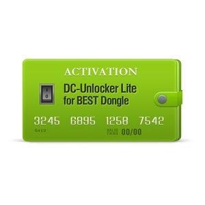 DC-Unlocker Lite активация для BEST Dongle