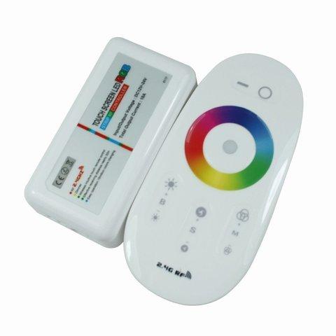 Контролер з тачпультом HTL-025 (RGB, 5050, 3528, 216 Вт)