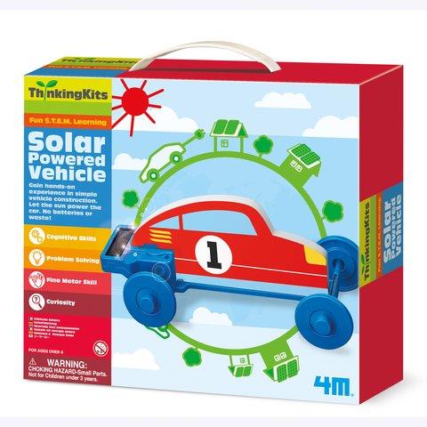 STEM-набор 4M Машинка на солнечной энергии 00-04676