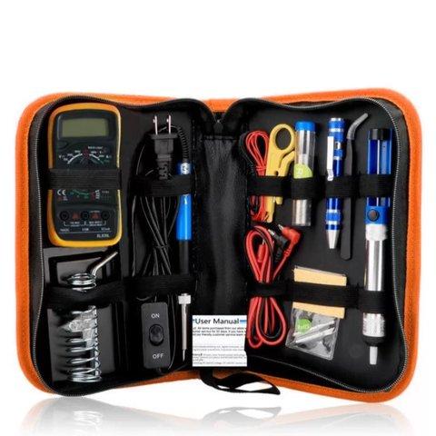Multifunctional Tool Kit GREEN K010 110 V
